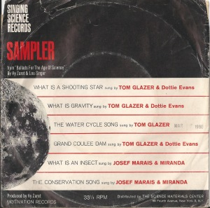 Singing Science Sampler (front)