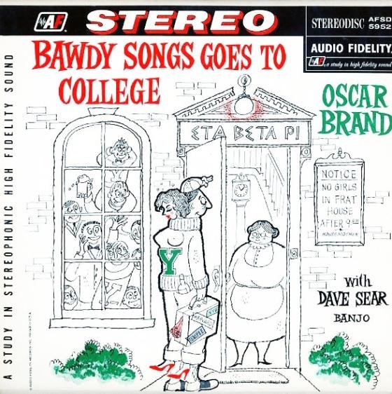 BawdySongsGoesToCollege-OscarBrand001