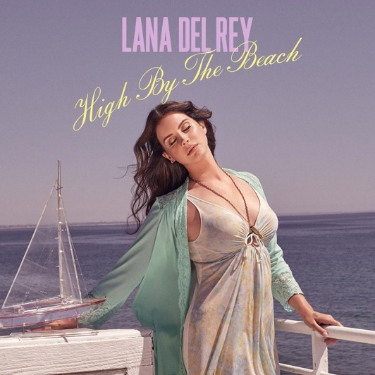Lana-Del-Rey-High-By-The-Beach-Cover