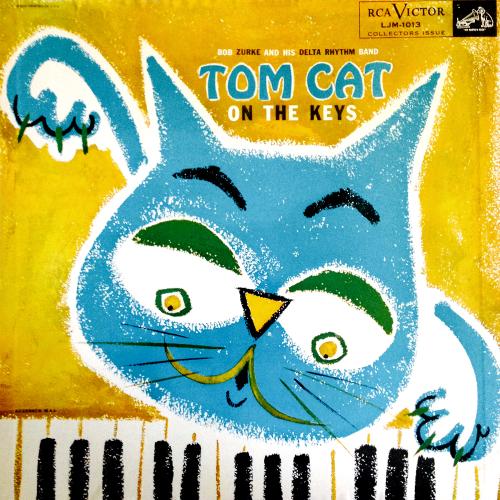 bob-zurke-and-his-delta-rhythm-band-tom-cat-on-the-keys-1950s-vinyl-lp-record-album-with-kitten-tom-cat-cover-artwork-art