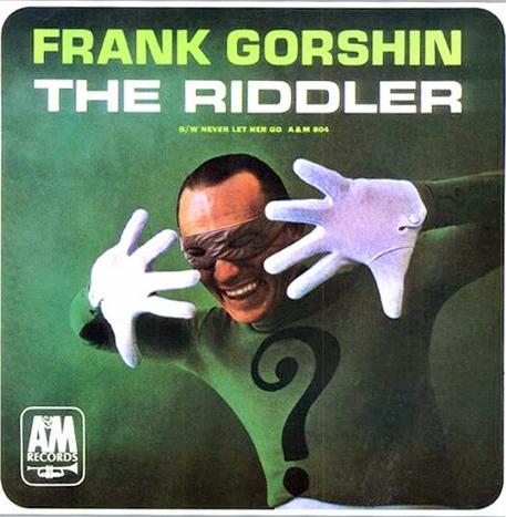 riddler-frank-gorshin-1966-single-45-song-songs-dc-comics-lp-album-music-singer-super-villain-foe