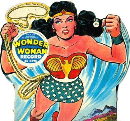 wonder-woman-tifton-45-lp-power-records-dc-comics-song-1967-1976-silver-age