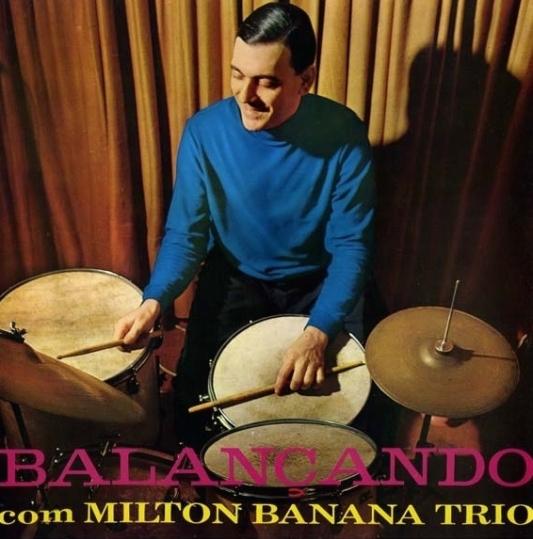 Balançando com Milton Banana Trio (capa)