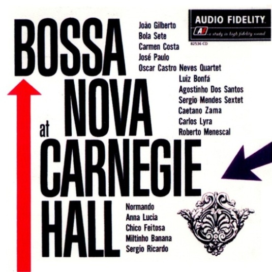 Bossa Nova at Carnegie Hall(LP,front)
