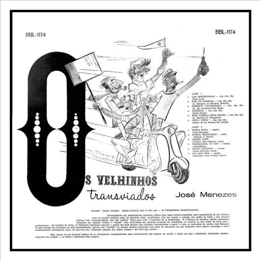 OS VELHINHOS TRANSVIADOS-1962-Contra Capa