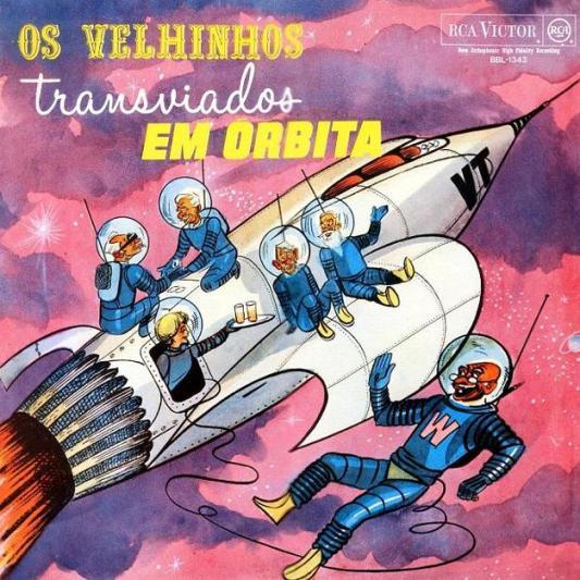 OS VELHINHOS TRANSVIADOS-EM ORBITA-1965-Capa