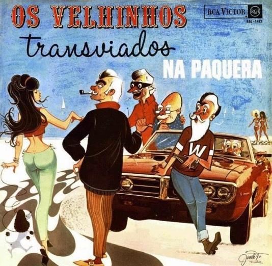 OS VELHINHOS TRANSVIADOS-NA PAQUERA-CAPA