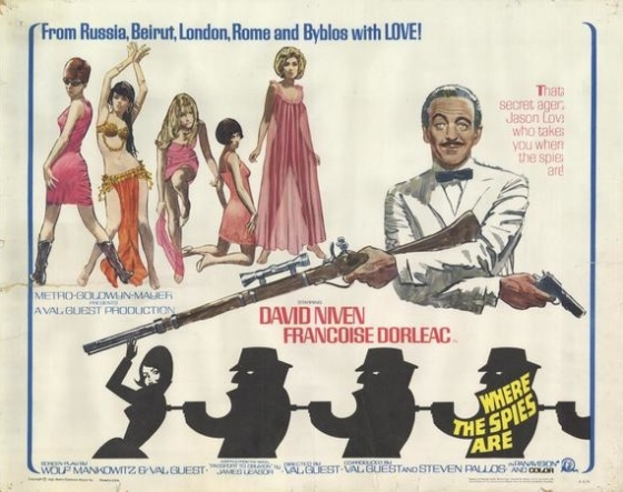 where-the-spies-are-half-sheet-poster-david-niven-eurospy