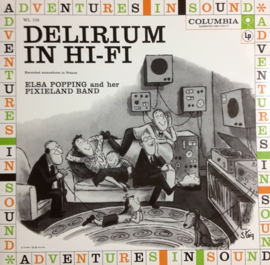 Elsa Popping And Her Pixieland Band - Delirium In Hi-Fi (1)