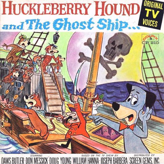 HuckleberryHoundGhostShipFront