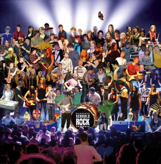 school's rock ensemble