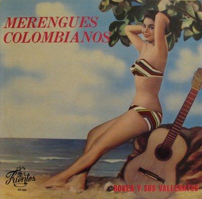 BOVEA Y SUS VALLENATOS - MERENGUES COLOMBIANOS