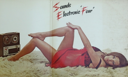 """Dan-Hill-Sounds-Electronic-Four-1966-Gat-12""""-LP-South-African-Cheesecake-1"""