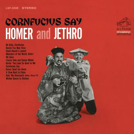 Homer & Jethro - Cornfucius say