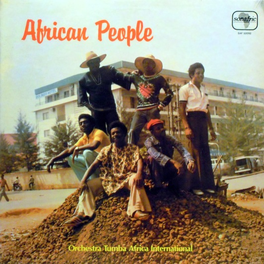 Orchestra Tumba Africa, front