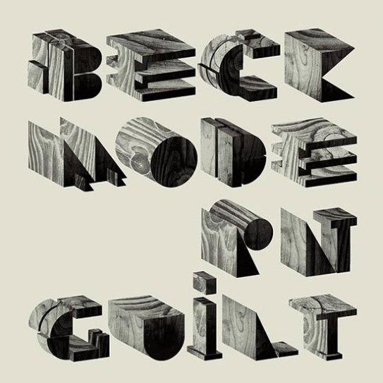 Beck-Typography-album-cover-Art