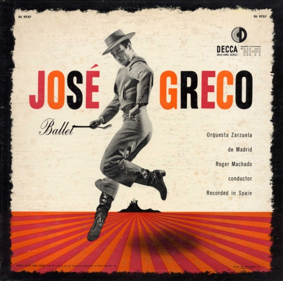 José Greco Ballet [Decca Gold Label Series catalogue no. DL 9757]]