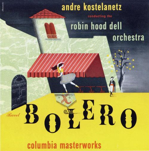1944c Ravel 'Bolero [Columbia Masterworks catalogue no. MX-257] signed Steinweiss
