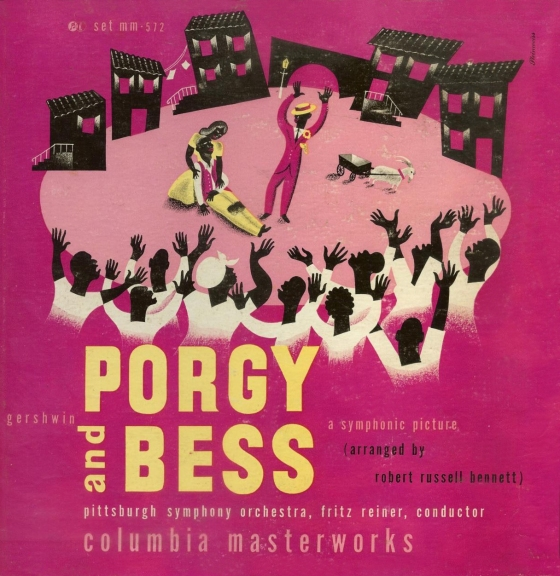 1945+Gershwin+Porgy+and+Bess+[Columbia+Masterworks+catalogue+no.+MM-572]+signed+Steinweiss