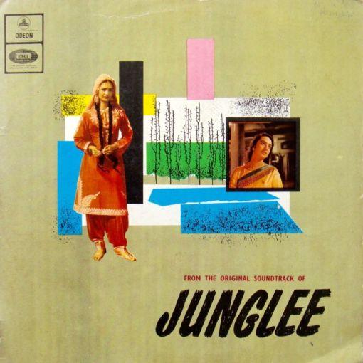 Vintage Bollywood Soundtrack LPs (5)