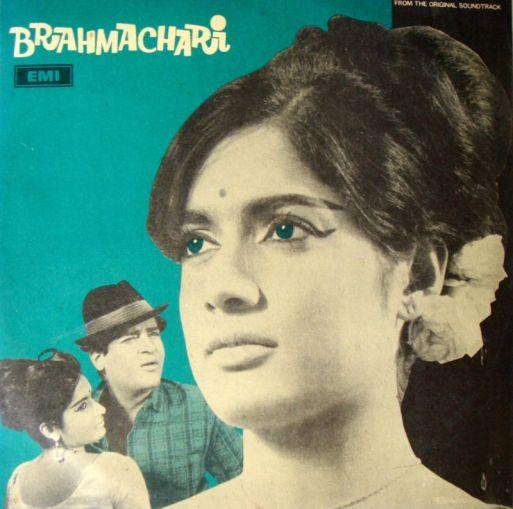 Vintage Bollywood Soundtrack LPs (8)