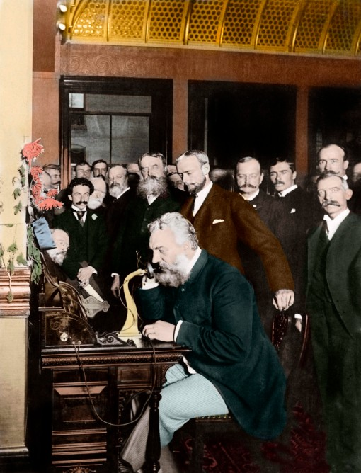 alexander-graham-bell-making-telephone-call