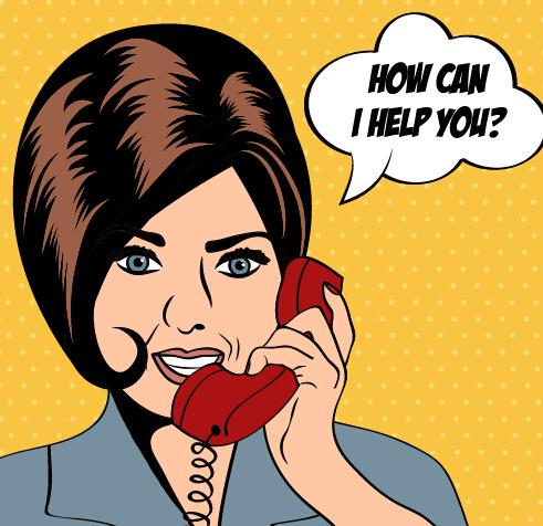 phone_call_woman_vector_545967