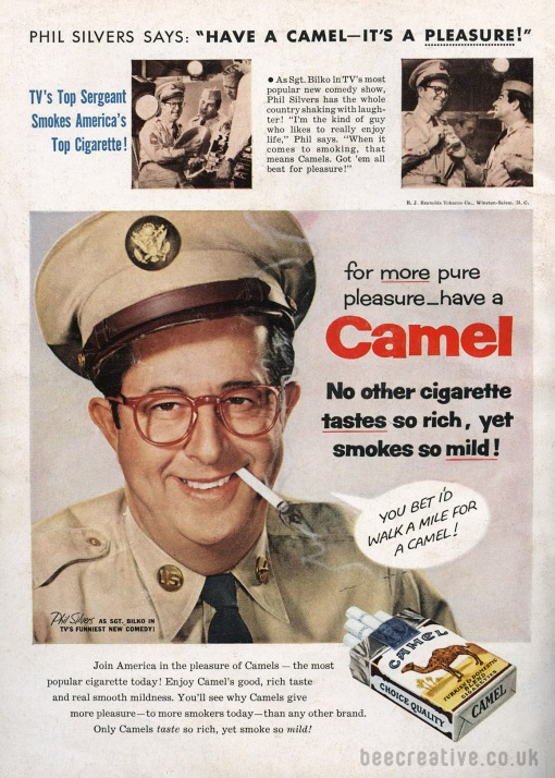 phil-silvers-camel-cigarette-advert