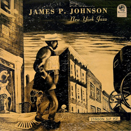 1950 James P. Johnson - New York Jazz 10 LP
