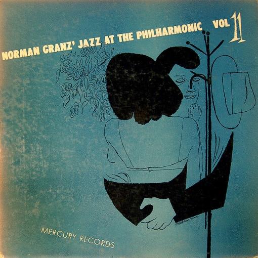 1951 Jazz at the Philharmonic Vol. 11 10 LP