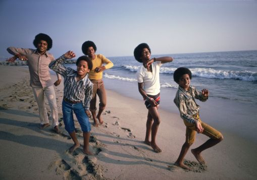 Jacksons_on_beach-credit-Lawrence-Schiller