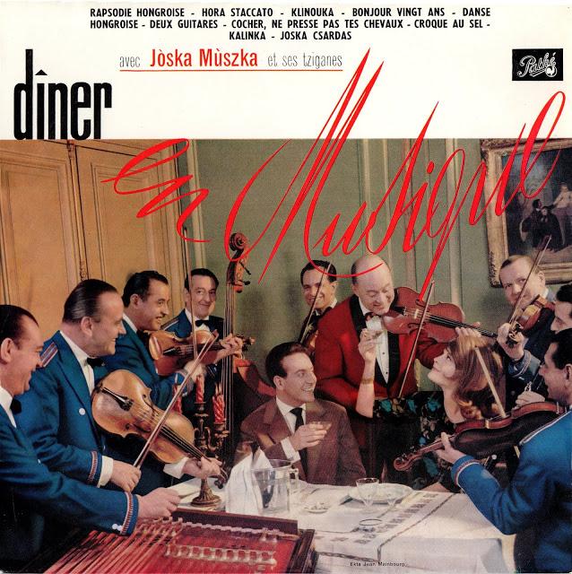 avec Joska Muszka et son Tziganes - Diner en Musique 1